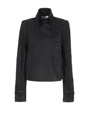 Leather outerwear Women's - ANN DEMEULEMEESTER