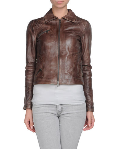 LALTRAMODA - Leather outerwear