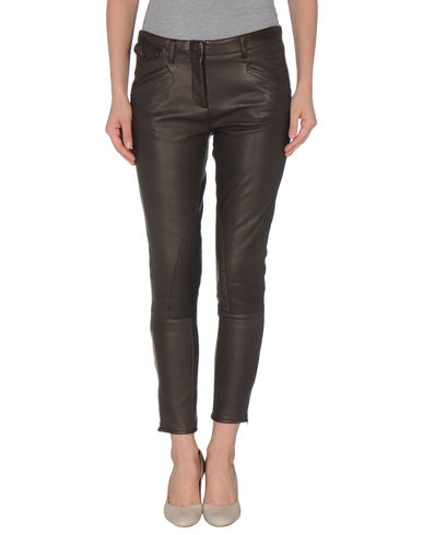 DINOU - Leather pants