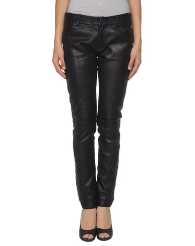 AMERICAN RETRO - Leather pants