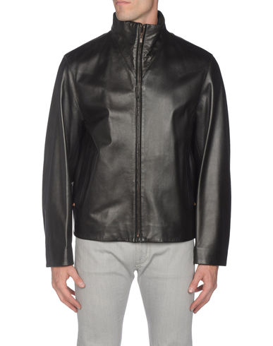 HUGO BOSS - Leather outerwear