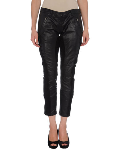 VIRGINIE CASTAWAY - Leather pants