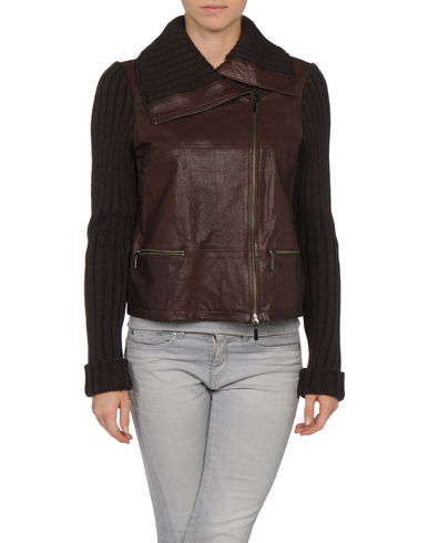 STEFANEL - Leather outerwear