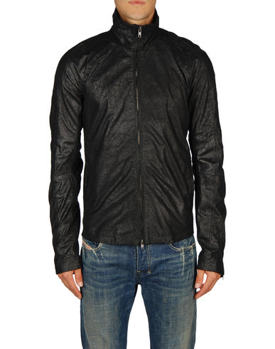 DIESEL BLACK GOLD - Leather outerwear