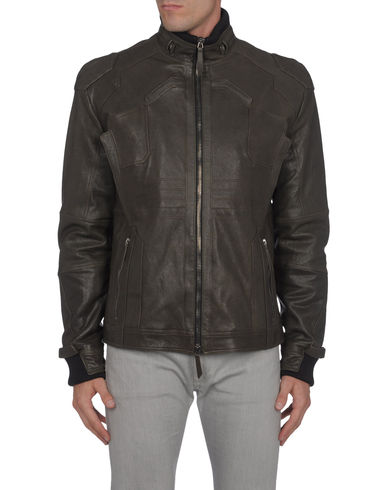 VERRI - Leather outerwear