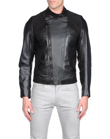 LES HOMMES - Leather outerwear