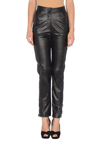 PACO RABANNE - Leather pants