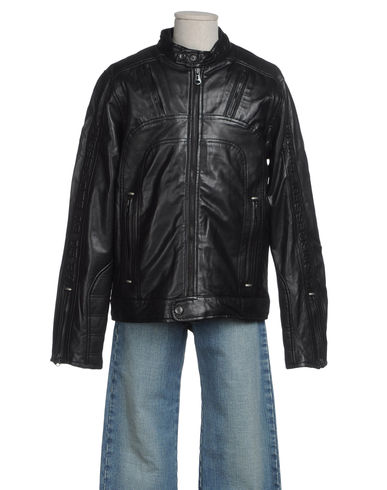 DIESEL - Leather outerwear