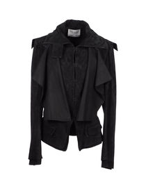 YVES SAINT LAURENT RIVE GAUCHE - Leather outerwear