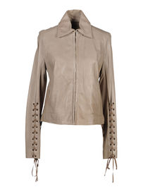 PLEIN SUD - Leather outerwear