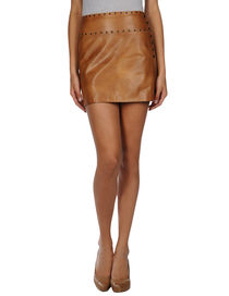 JOHN RICHMOND - Leather skirt