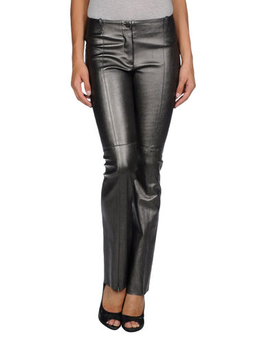 PLEIN SUD - Leather pants