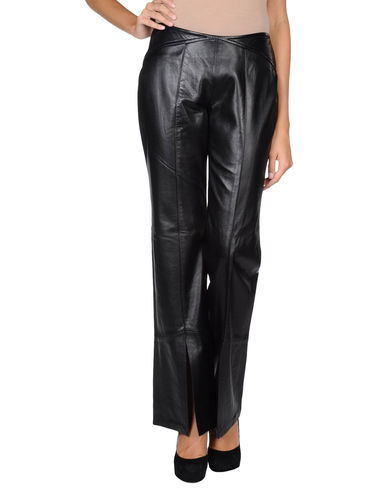 IT COLLECTION - Leather trousers