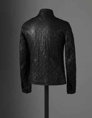 BLOUSON EN NAPPA CAPITONNÉ - Pardessus en cuir - Dolce&Gabbana - Hiver 2016