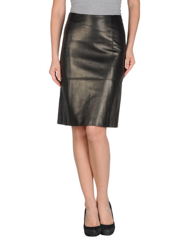MICHAEL KORS - Leather skirt
