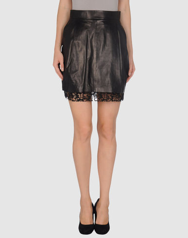 D&G - Leather skirt
