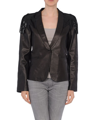 HOTEL PARTICULIER - Leather outerwear