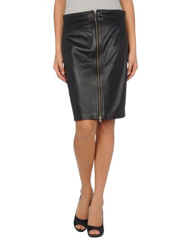 LIU •JO - Leather skirt