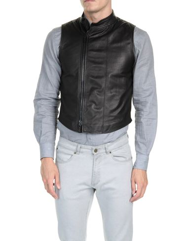GIORGIO ARMANI - Leather outerwear