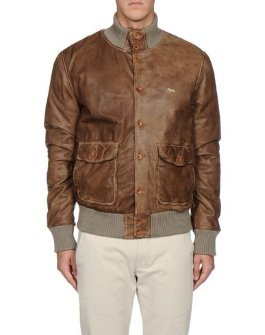 HARMONT&BLAINE - Leather outerwear