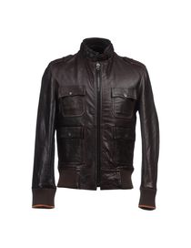 DOCKERS - Leather outerwear