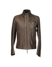 MESSAGERIE - Leather outerwear