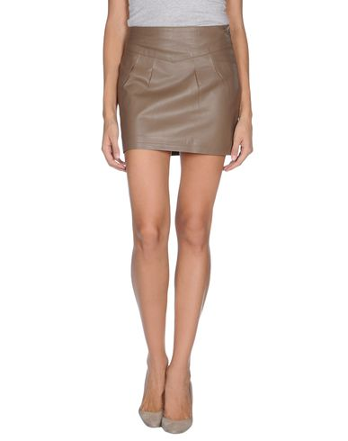 CUPLÉ - Leather skirt
