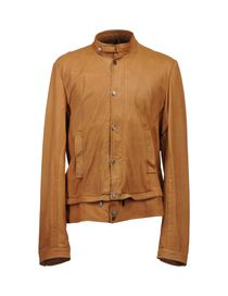 GAZZARRINI - Leather outerwear