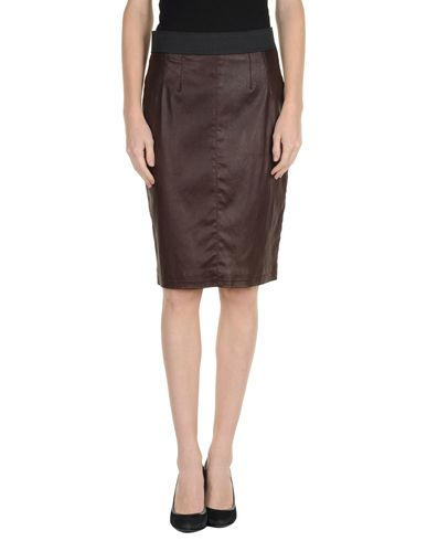 DOLCE & GABBANA - Leather skirt