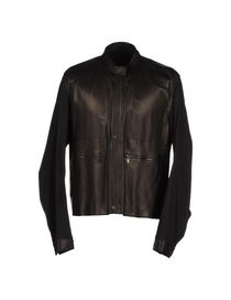 LANVIN - Leather outerwear