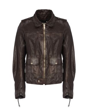 Leather outerwear Men's - GOLDEN GOOSE