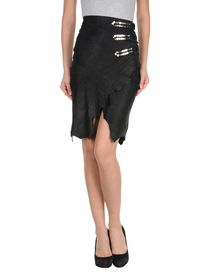 BALMAIN - Knee length skirt