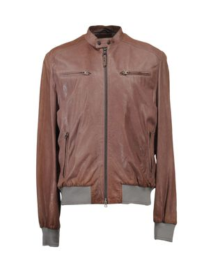 VITTORIO FORTI - Leather outerwear