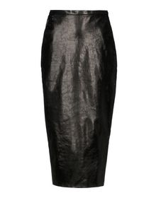 Leather skirt - RICK OWENS