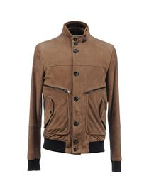 HOGAN - Leather outerwear