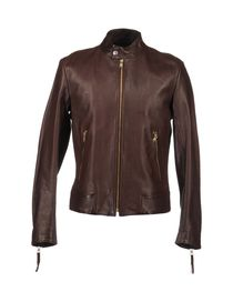 ALEXANDER MCQUEEN - Leather outerwear