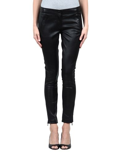 D&G - Leather pants
