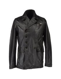 BIKKEMBERGS - Leather outerwear