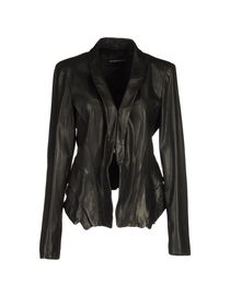 EMPORIO ARMANI - Leather outerwear