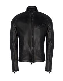 Leather outerwear - RALPH LAUREN BLACK LABEL