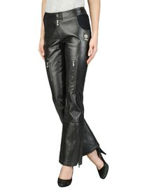 FENDI - Leather trousers