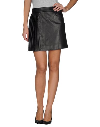 LES APERIZES - Leather skirt