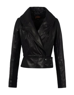 Leather outerwear Women's - VIVIENNE WESTWOOD ANGLOMANIA