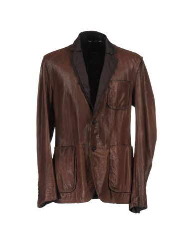 DOLCE &amp; GABBANA - Leather outerwear
