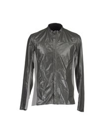 PRINGLE OF SCOTLAND - Leather outerwear