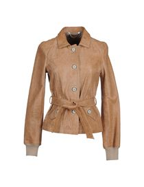 DANIELE ALESSANDRINI DELUXE - Leather outerwear