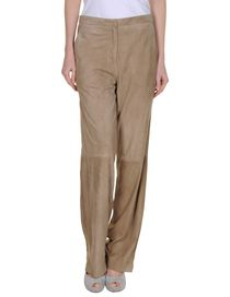 BRUNELLO CUCINELLI - Leather pants
