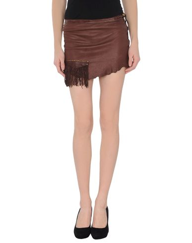 LE CUIR PERDU - Leather skirt