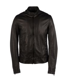 Leather outerwear - DOLCE & GABBANA