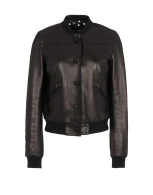 Leather outerwear Women's - DOLCE & GABBANA